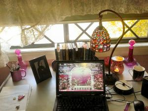 My writing space. my favourite place to be